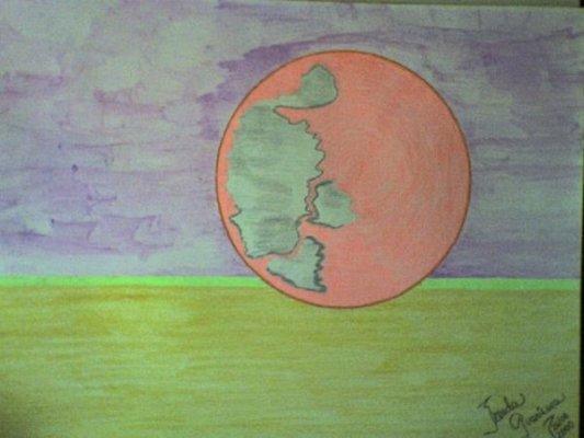 MOON by Brenda E. Guarisma
