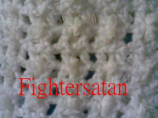 白圍巾-局部