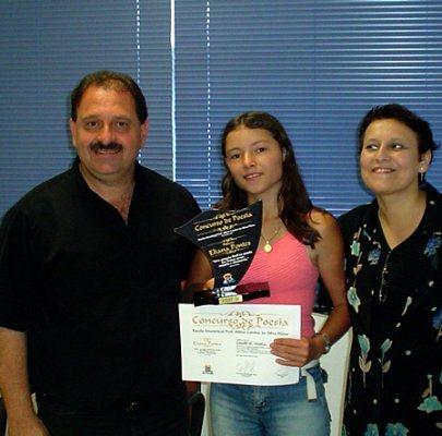 Primeira colocada do Prêmio Eliana Pontes