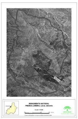 Monumento Natural Piedra Lobera mapa