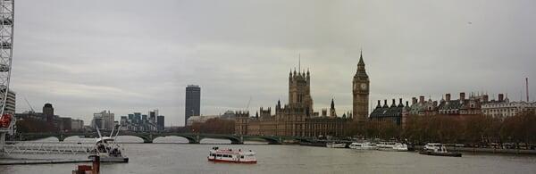 泰晤士河·伦敦眼·议会大厦·大本钟