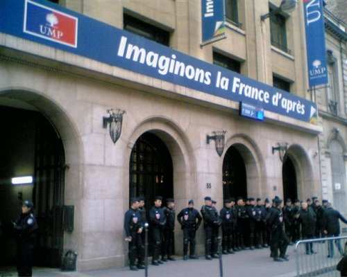 UMP PARIS MARS 2007