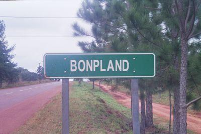 cartel Bonpland